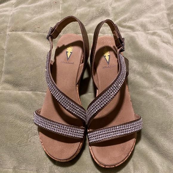 Women's Bronze Sandals